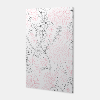 Thumbnail image of  Classy doodles hand drawn floral artwork, Live Heroes