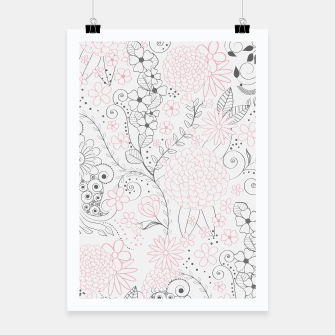 Thumbnail image of Classy doodles hand drawn floral artwork , Live Heroes