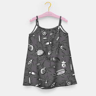 Thumbnail image of Beetles & Spiders Girl's Dress, Live Heroes