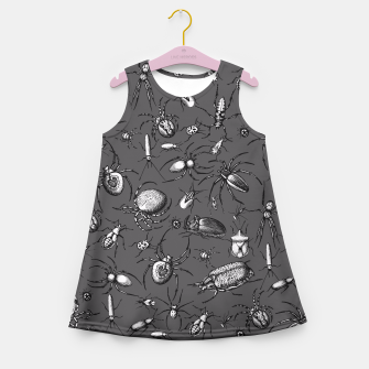 Thumbnail image of Beetles & Spiders Girl's Summer Dress, Live Heroes
