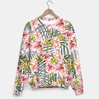 Thumbnail image of Flowered exotic Sudadera, Live Heroes