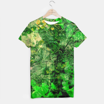 Miniatur Jungle green attitude T-shirt, Live Heroes
