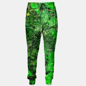 Miniatur Jungle green attitude Pantalons de survêtement, Live Heroes