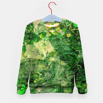 Miniatur Jungle green attitude Enfantin Sweat-shirt, Live Heroes