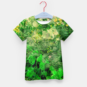 Miniatur Jungle green attitude Enfantin T-shirt, Live Heroes