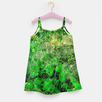 Miniatur Jungle green attitude Robe de fille, Live Heroes