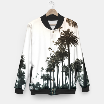 Thumbnail image of Los Angeles Palm Trees Baseball Jacket, Live Heroes