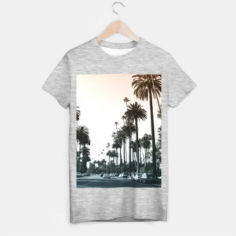 Los Angeles Palm Trees T-shirt regular thumbnail image