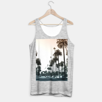 Thumbnail image of Los Angeles Palm Trees Tank Top regular, Live Heroes