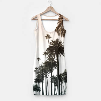 Thumbnail image of Los Angeles Palm Trees Simple Dress, Live Heroes
