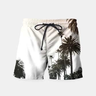 Los Angeles Palm Trees Swim Shorts thumbnail image