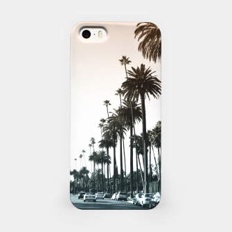 Thumbnail image of Los Angeles Palm Trees iPhone Case, Live Heroes