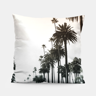 Los Angeles Palm Trees Pillow thumbnail image