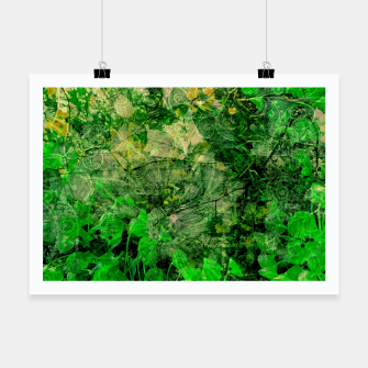 Thumbnail image of Jungle green attitude Affiche, Live Heroes