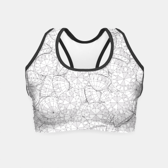 Thumbnail image of Diamonds Are Forever III Crop Top, Live Heroes