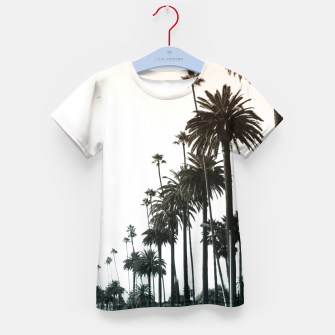 Los Angeles Palm Trees Kid's T-shirt thumbnail image