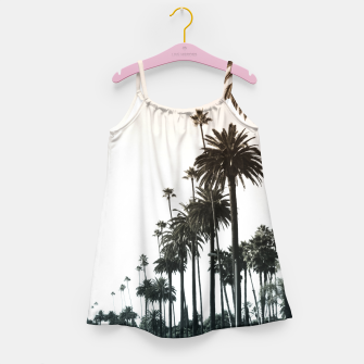 Thumbnail image of Los Angeles Palm Trees Girl's Dress, Live Heroes