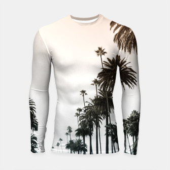Los Angeles Palm Trees Longsleeve Rashguard  thumbnail image