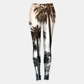 Los Angeles Palm Trees Leggings thumbnail image