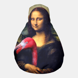 Thumbnail image of Mona Lisa and Her Flamingo Pouf, Live Heroes