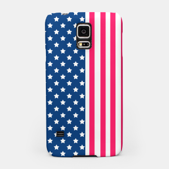 Thumbnail image of Abstract Patriotic pattern design Samsung Case, Live Heroes