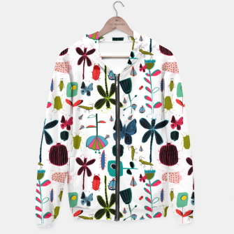 Miniatur Insect and bugs white Hoodie, Live Heroes