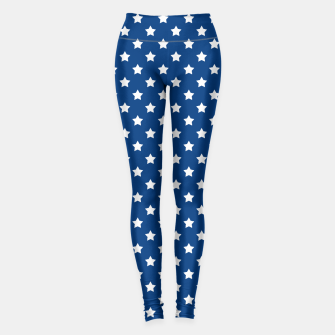 Thumbnail image of Abstract Patriotic pattern design Leggings, Live Heroes