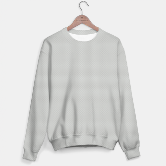 Thumbnail image of Gray Silver White Carbon Fibre Bulletproof Composite Unisex sweater, Live Heroes