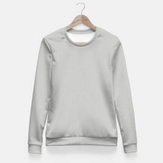 Thumbnail image of Gray Silver White Carbon Fibre Bulletproof Composite Women sweater, Live Heroes