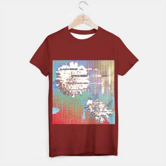 Thumbnail image of Abstract flower collage T-shirt regular, Live Heroes