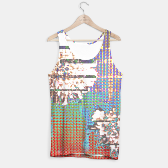 Thumbnail image of Abstract flower collage Tank Top, Live Heroes