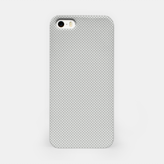 Thumbnail image of Gray Silver White Carbon Fibre Bulletproof Composite iPhone Case, Live Heroes