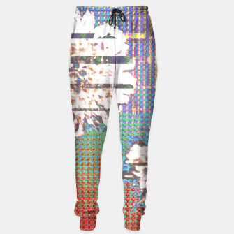 Thumbnail image of Abstract flower collage Sweatpants, Live Heroes