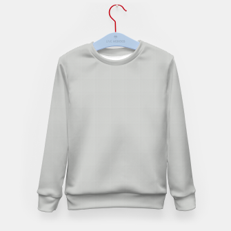 Thumbnail image of Gray Silver White Carbon Fibre Bulletproof Composite Kid's sweater, Live Heroes
