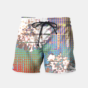 Thumbnail image of Abstract flower collage Swim Shorts, Live Heroes