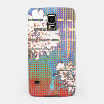 Thumbnail image of Abstract flower collage Samsung Case, Live Heroes