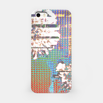 Thumbnail image of Abstract flower collage iPhone Case, Live Heroes