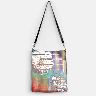 Thumbnail image of Abstract flower collage Handbag, Live Heroes