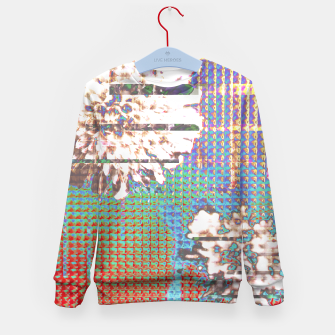 Thumbnail image of Abstract flower collage Kid's Sweater, Live Heroes