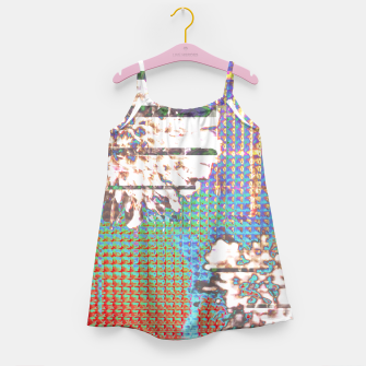 Thumbnail image of Abstract flower collage Girl's Dress, Live Heroes