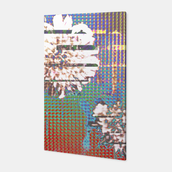 Thumbnail image of Abstract flower collage Canvas, Live Heroes