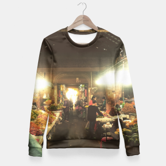 Miniatur Out Of the Market Fitted Waist Sweater, Live Heroes