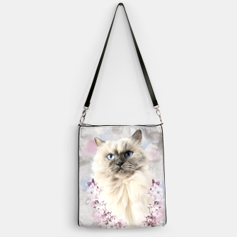 Thumbnail image of Watercolor Kitty Handtasche, Live Heroes
