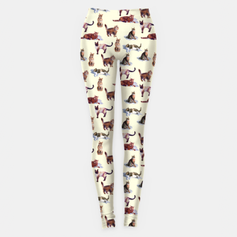"Miniatur ""Watercolor cats"" Leggings, Live Heroes"