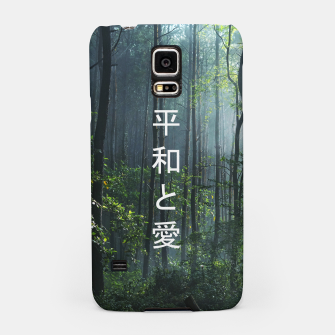 Thumbnail image of 平和と愛 / Peace And Love Samsung Case, Live Heroes