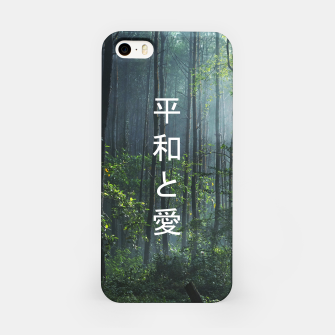 Thumbnail image of 平和と愛 / Peace And Love iPhone Case, Live Heroes