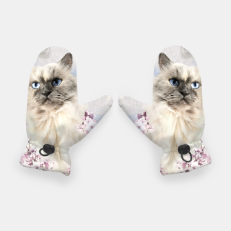 Thumbnail image of Watercolor Kitty Handschuhe, Live Heroes