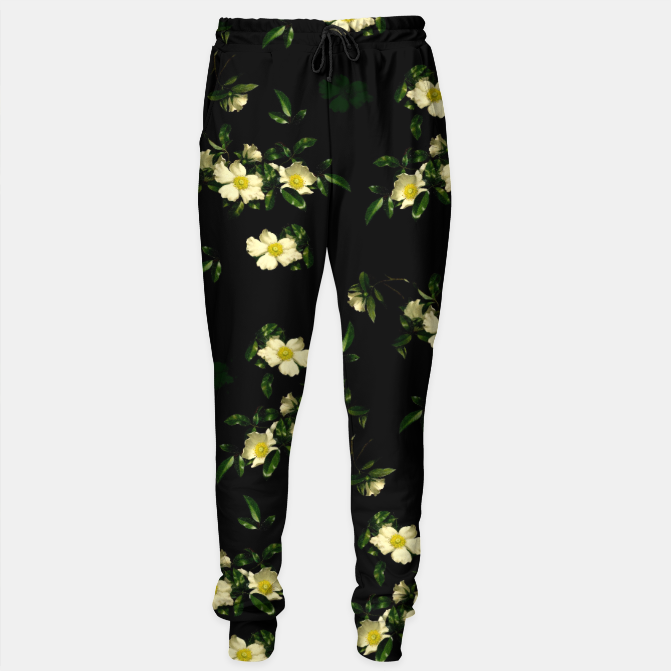 Image of Cherokee White Roses Sweatpants - Live Heroes