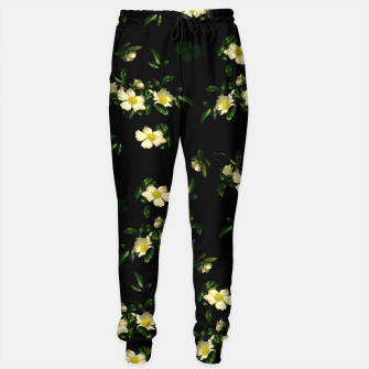 Thumbnail image of Cherokee White Roses Sweatpants, Live Heroes