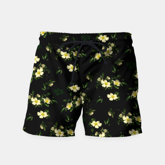 Thumbnail image of Cherokee White Roses Swim Shorts, Live Heroes